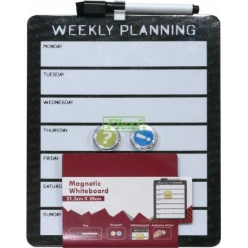 Magnetic Whiteboard Planner - JL023