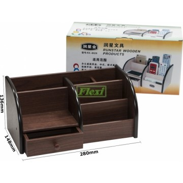 Desk Caddy Wooden - RX8020