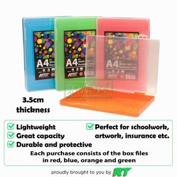 Box File Plastic - DC707