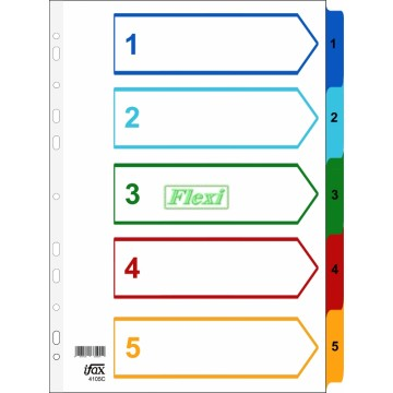 Divider Colour PP - 1-5