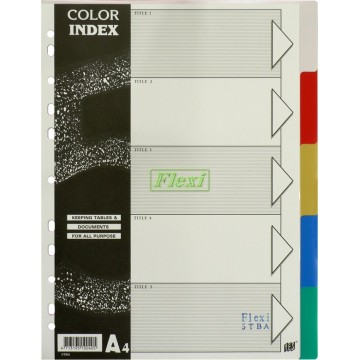 Divider PP Colour - 5TBA