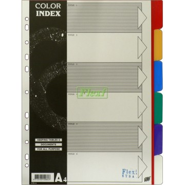 Divider PP Colour - 6TBA