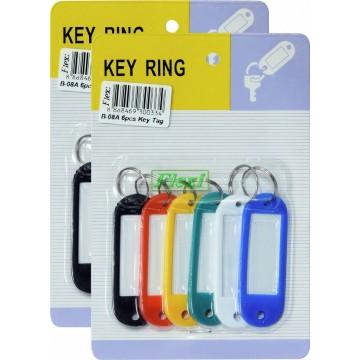 Key Tag - 6pcs