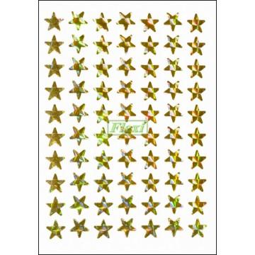 Laser Star Stickers - 770
